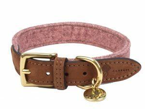 Halsband hond Blend roze 35cmx20mm XS