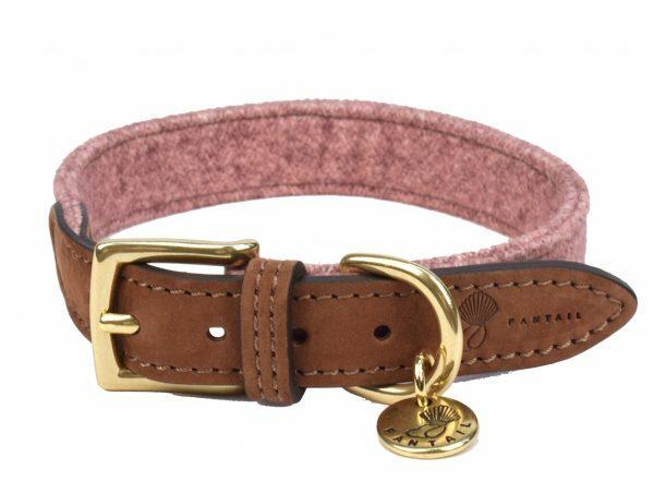 Halsband hond Blend roze 30cmx20mm XXS