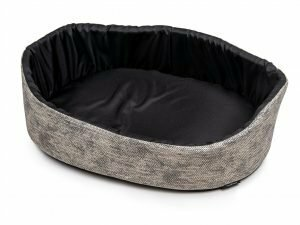 Hondenmand Winter grijs 60x40x21cm