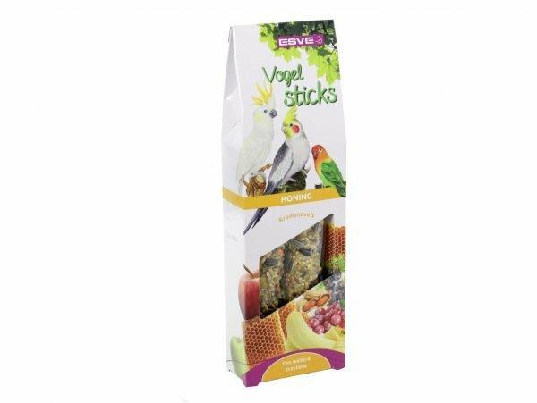 ESVE Vogelsticks Agapornis&grote parkiet honing(2)