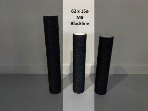 Sisalpaal 62x15Ø M8 BLACKLINE