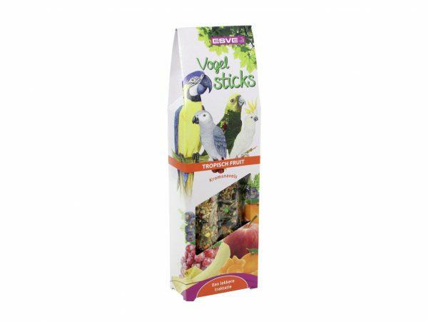 ESVE Vogelsticks Papegaai Tropisch Fruit (2)