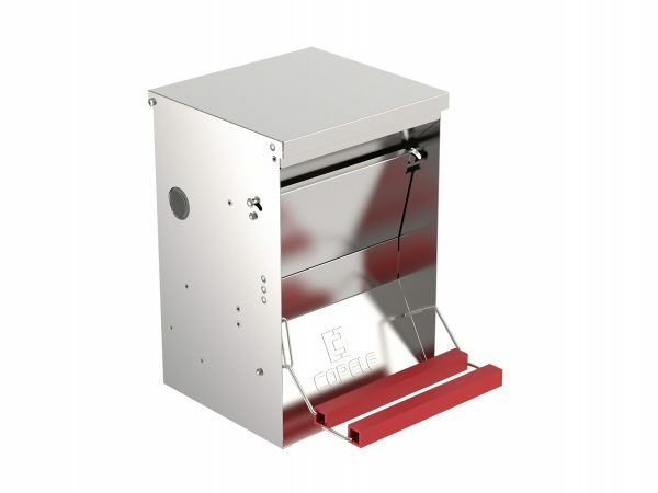 Gegalvaniseerde automatische voerbak 10 L