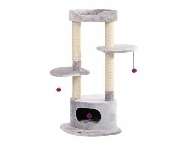 Kattenklim Sham lichtgrijs 50x50x116.5cm