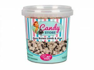 Candy Duo Bones lam & rijst 500g