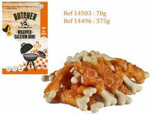 Chicken Wrapped Calcium Bone 70g MINI