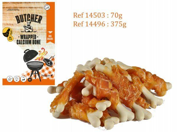 Chicken Wrapped Calcium Bones 375g MINI