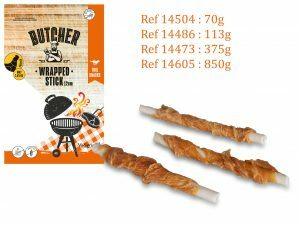 Chicken Wrapped Stick 12cm 850g