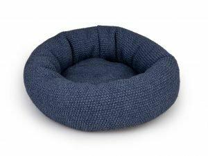 Donut Knit blauw Ø45cmx18cm