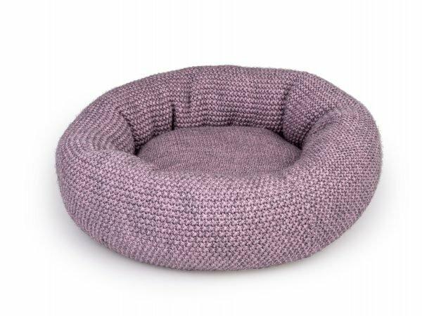 Donut Knit roze Ø45cmx18cm