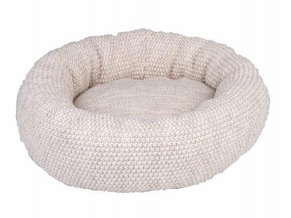 Donut Knit beige Ø45cmx18cm