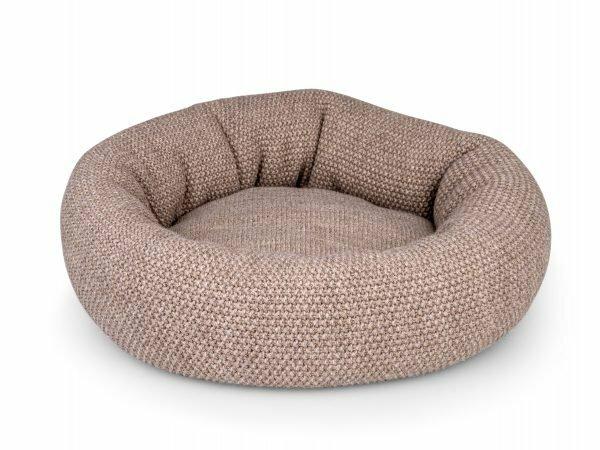 Donut Knit bruin Ø45cmx18cm