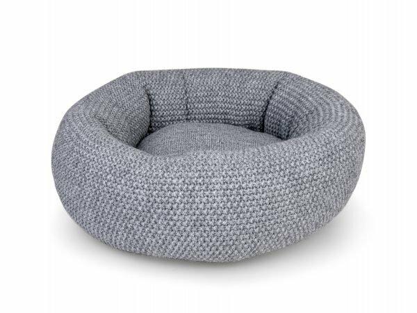 Donut Knit grijs Ø45cmx18cm
