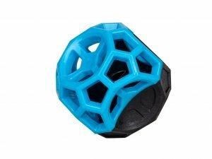 Speelgoed hond TPR Blueberry Fun bal 8,5 cm
