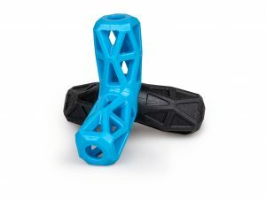 Speelgoed hond TPR Blueberry Fun ster 13cm