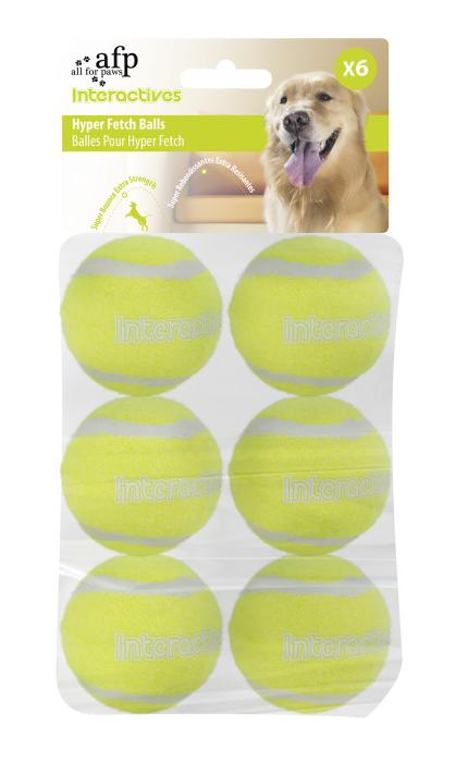 AFP Interactive Hyper Fetch Super Bounce Tennis Balls