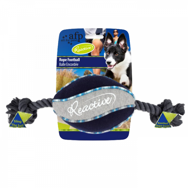AFP Reactive Rope Football Blue