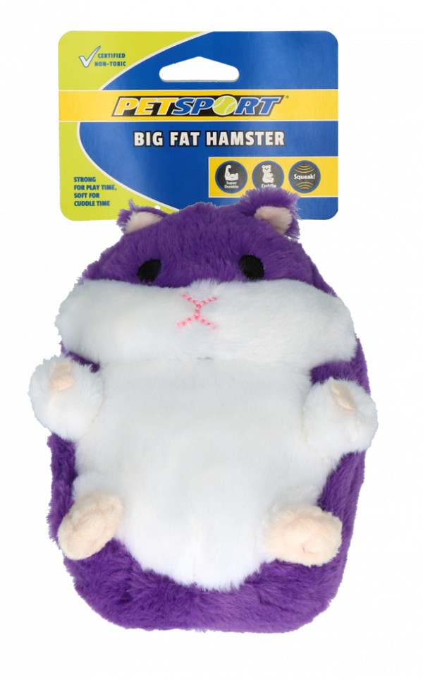 Big Fat Hamster Paars