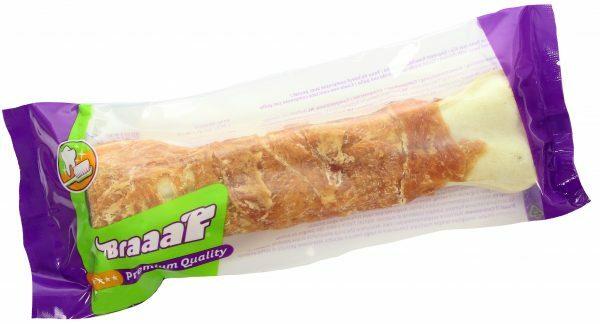 Braaaf Pressed Chicken Bones 20 cm (1 pcs)