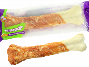 Braaaf Pressed Chicken Bones 25 cm (1 pcs)