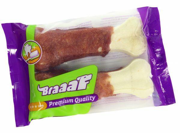 Braaaf Pressed Duck Bones 12.5 cm (2 pcs)