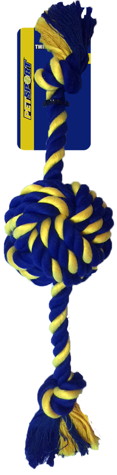 Braided Cotton Rope Knot Ball Large 45 cm