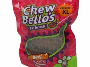 ChewBello's Biefstuk L-XL (3 stuks)