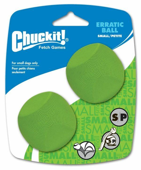 Chuckit Erratic Ball Small 2-Pack