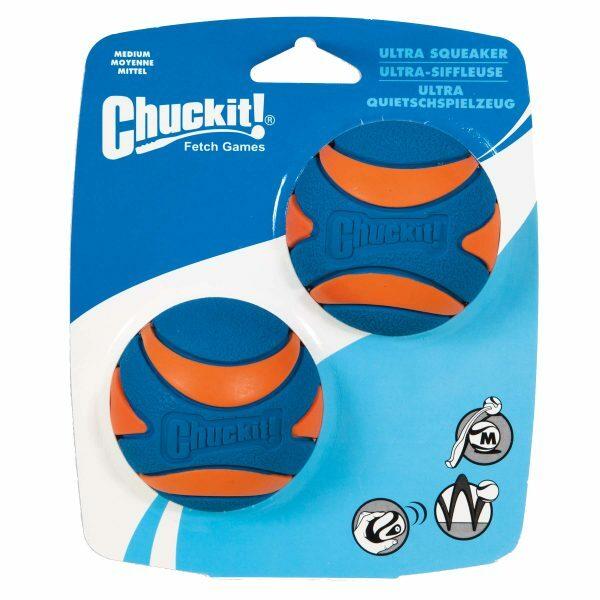 Chuckit Ultra Squeaker Ball M 6 cm 2 pcs.