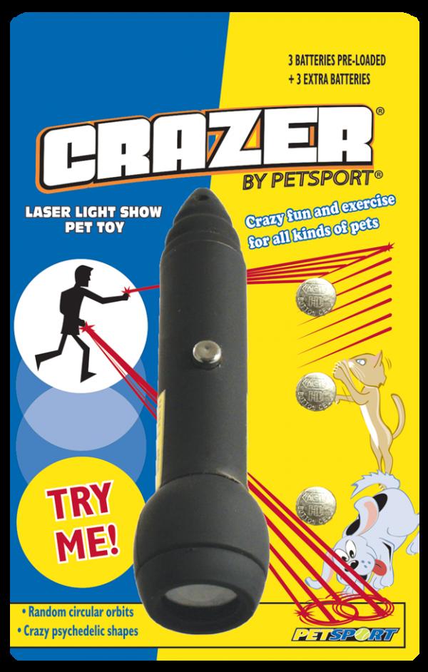 Crazer laser 5mW Class 3R