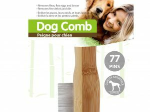 p14238  pawi11474 detangling and flea comb 77 pins 1