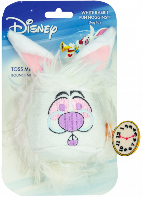 Disney Noggins Alice in Wonderland Rabbit