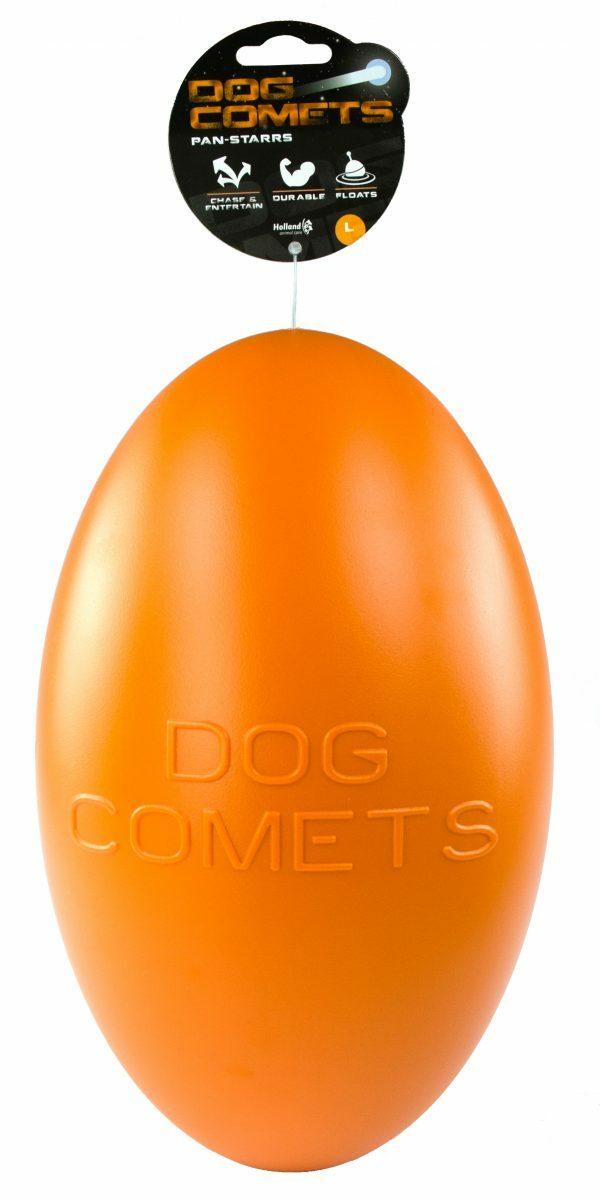 Dog Comets Pan-Stars Oranje L 30cm