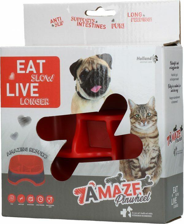 Eat Slow Live Longer Amaze Pinwheel Red S