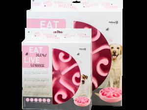 Eat Slow Live Longer Original Pink S