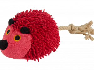 Fuzzle Hedgie With Tail Red
