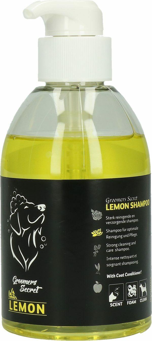Groomers Secret Lemon met pomp