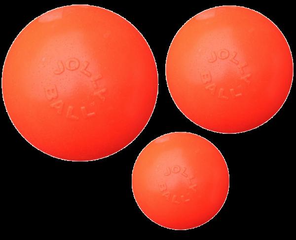 Jolly Ball Bounce-n Play 15cm Oranje (Vanillegeur)
