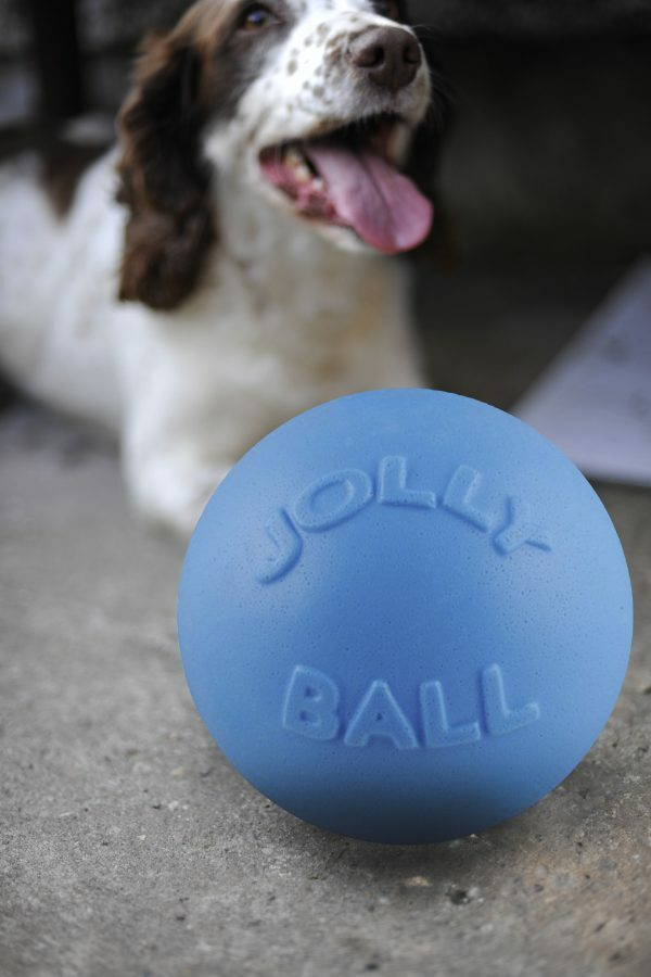 Jolly Ball Bounce-n Play 20cm Baby Blauw (Bosbessengeur)