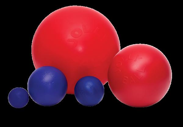 Jolly Ball Push-n-Play 35cm rood