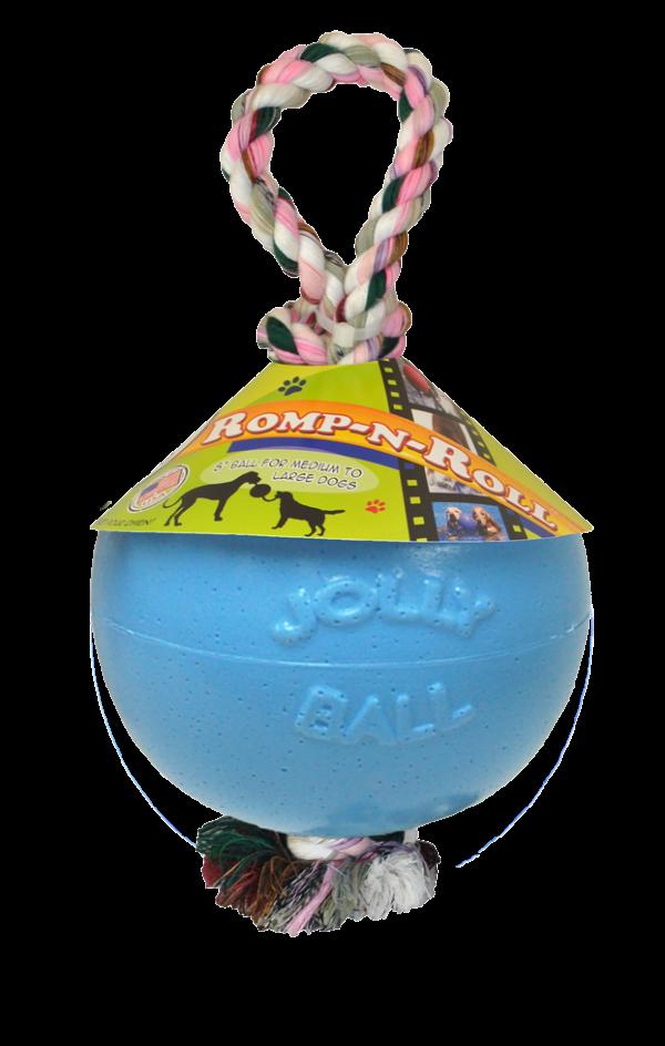 Jolly Ball Romp-n-Roll 10 cm Baby Blauw (Bosbessengeur)