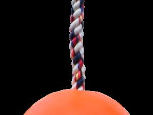 Jolly Ball Romp-n-Roll 10 cm Oranje (Vanillegeur)