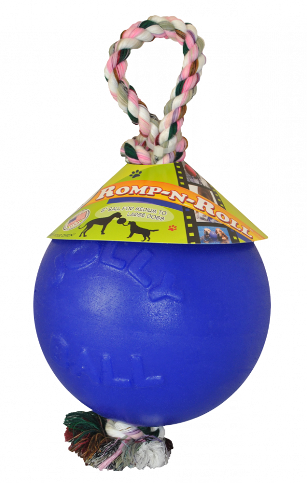Jolly Ball Romp-n-Roll 15cm Blauw