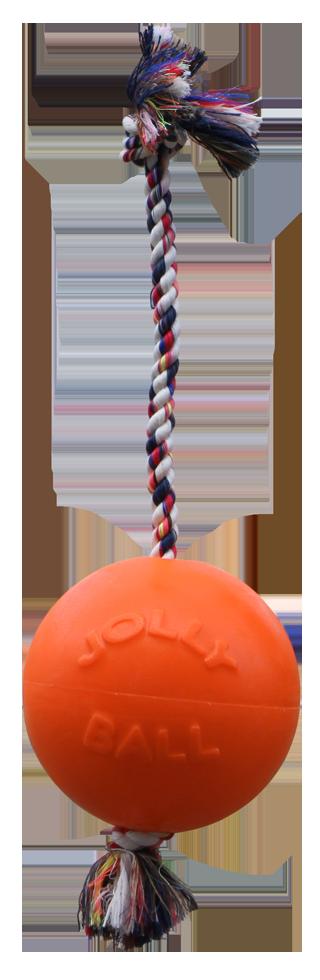 Jolly Ball Romp-n-Roll 15cm Oranje (Vanillegeur)