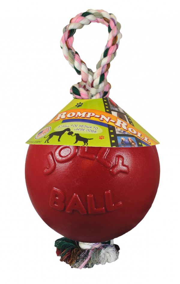 Jolly Ball Romp-n-Roll 15cm Rood