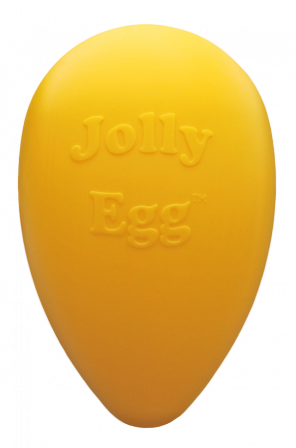 Jolly Egg 30 cm Geel