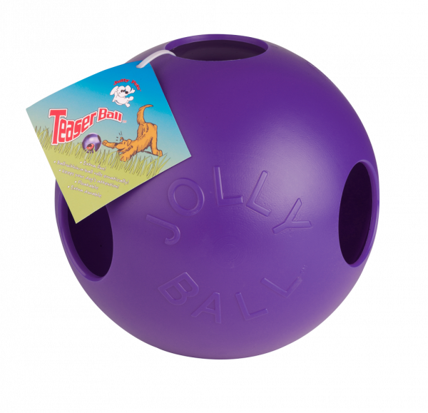 Jolly Teaser Ball 10 cm Blauw