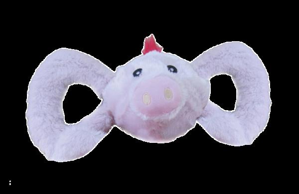 Jolly Tug-a-Mals Pig XL 28 cm
