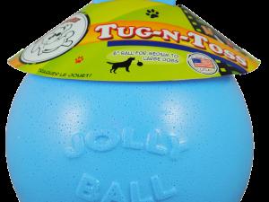 Jolly Tug-n-Toss 15 cm Baby Blauw (Bosbessengeur)