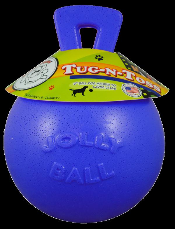 Jolly Tug-n-Toss 15 cm Blauw